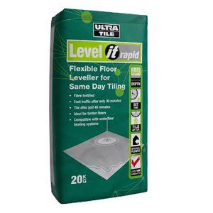 Flexible Floor Leveller for Same Day Tiling
